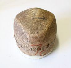 Milliner's 1940's Fedora Crown Hat Block